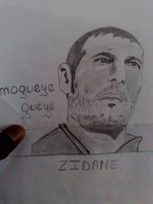 Zinedine Zidane by magueye